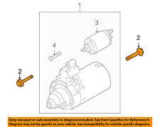 AUDI OEM 14-15 R8 5.2L-V10-Starter Mount Bolt N10314506