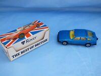 Vintage Boxed 1:61 Corgi SD1 1972 Rover 3500 V8 P6 Dark Blue Metallic Car Toy
