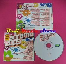 CD SANREMO 2005 compilation 2005 RENGA MARCO MASINI TATANGELO tv sorrisi (C13*)