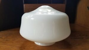 Milk Glass Ceiling Lamp Shade