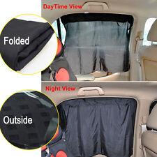2PCS Car Sun Shade Window Curtain With Suckers Car Sun Visor Solar Protection