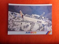 AIRBUS A340 300   POSTCARD UNUSED PRINTED IN AUSTRALIA
