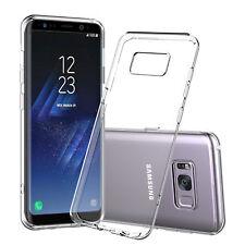 Funda carcasa de gel silicona TPU para Samsung Galaxy Note 8. transparente