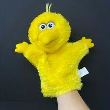 """Applause Big Bird Sesame Street Muppet Hand Puppet 11""""  Yellow Vintage"""
