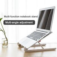Universal Adjustable Computer Holder Stand Desk Tablet Foldable Portable 11-15.6