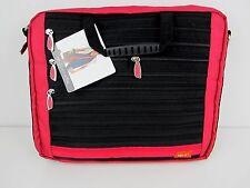 "ZIP IT 15"" Laptop Bag 36x30 cm rot Tasche NEU Umhängetasche Schultertasche"