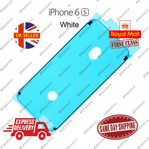 White iPhone 6S LCD Screen Frame Adhesive Waterproof Seal Sticker Replacement