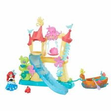 Ariel Little Mermaid Sea Castle & Boat Playset Disney Princess Little Kingdom