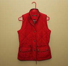 New Ralph Lauren Polo Womens Quilted Vest Red XS