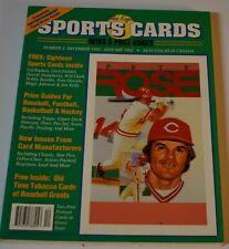 Original Dec 1991 ALLAN KAYE'S Sports Cards Magazine w/ Cards (GRETZKY)