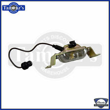 66-73 GM A & B  Body Models (see app list) License Plate Lamp Light Assembly