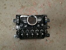 BMW MINI R55 R56 LCI  - CLIMATE HEATER CONTROL WINDOW HEATED SEAT SWITCH PANEL