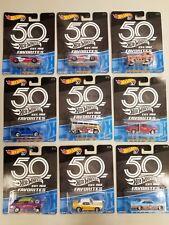 2018 Hot Wheels Real Riders 50th Anniversary   (1-10/10) U PIC EM ships/Box