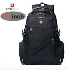 17.3 inch Waterproof Swiss Gear Men Travel Bag Macbook laptop hiking backpack