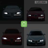 2 ampoules à LED smd  veilleuses / feux de position  Alfa Romeo 147 156 166 GT