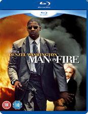 MAN ON FIRE - BLU-RAY - REGION B UK