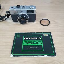Olympus 35RC Compact Rangefinder 35mm Film Camera with Zuiko Lens