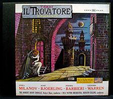 VERDI-IL TROVATORE Complete-2 LP BOX-RCA VICTOR #LM 6008 RED SEAL