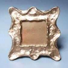 MICHAEL ARAM METALLIC GOLD TABLE DESK MIRROR