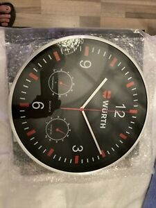 Würth Große Werkstatt Uhr Neu