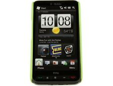 Rubberized Solid Case Neon Green For T-Mobile HTC HD2