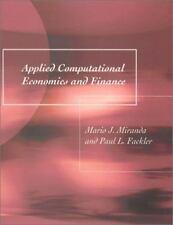 Applied Computational Economics and Finance by Mario J. Miranda and Paul L. Fack