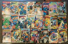 Copper Age lot of 23 different DC Comics, All Superman, Action, all pictured