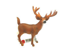 T12) Schleich (14253) Stag White-tailed Deer Creeping Animals