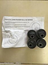 2 Degree offset castor bushes suit Toyota Landcruiser series 76 Caster