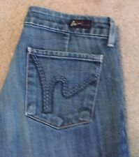 Citizens Of Humanity Dunaway # 087 Low Waist Full Leg Jeans 28 30x33