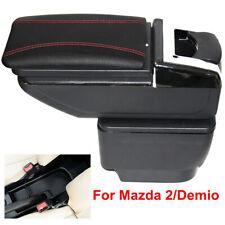 Armrest Box For Mazda 2 / Demio 2006-2019 Central Consoles Storage Box Arm Rest
