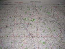 ORDNANCE SURVEY MAP 1958 WAR OFFICE EDITION. COLCHESTER. SHEET 149. 1 INCH