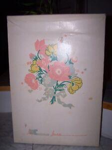 Vintage BABY CHATHAM Acrylic Satin Trim Blanket 40 x 60 (NEW in Original Box)
