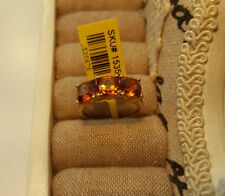 Citrine Cushion Natural Not Enhanced Fine Gemstone Rings