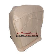 2001 Ford F-150 Lariat Super-Cab QUAD F150 *Driver Bottom Leather Seat Cover TAN