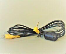 Sony Camera Video Cable/Lead 3.5mm Jack Plug to Phono Genuine Original FREE POST