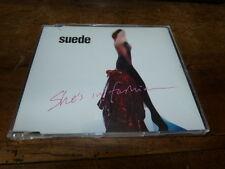 SUEDE - She's in fashion !!!! ! RARE CD promo !! SAMPCS 7154 !!!