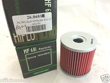 FILTRO DE ACEITE HYOSUNG 650 GT - 650 GV bacalao. 681