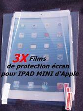 IPAD MINI D'APPLE LOT DE 3 FILMS DE PROTECTION ÉCRAN SCREEN PROTECTORS
