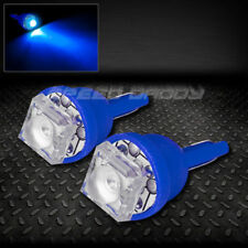 PAIR 1 SUPER FLUX LED T10 W5W 194 168 EXTRA BLUE INTERIOR DOME WEDGE LIGHT BULB