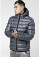 MEN'S SIK SILK ATMOSPHERE JACKET, SS-15041 IN GUN METAL GREY. XSmall. RRP £110*