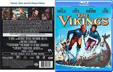The Vikings ~ New Blu-ray 2016 ~ Kirk Douglas, Janet Leigh (1958)