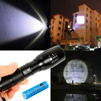 2500Lm CREE XML T6 LED ZOOMABLE Taschenlampen Torch Handlampe 18650 Ladegerät