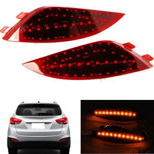 Car LED Tail Bumper Fog Lamp+Cornering Light (Yellow) For Hyundai Tucson/ix35