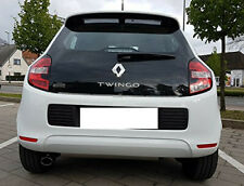 Auspuffblende Endrohr Auspuff schwarz Renault Twingo 3 III ab 2014 Sportauspuff