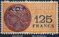 AOF TIMBRE FISCAL NEUF SANS GOMME