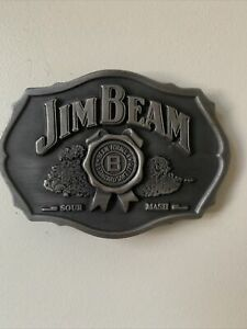 Jim Beam Collectable Belt Buckle