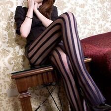 1Pcs Femme Sexy Collants Résille Rayures Verticales Bas Chaussettes  Élastique NF c783bdc5aa7