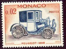 STAMP / TIMBRE DE MONACO N° 558 ** AUTOMOBILE / PEUGEOT 1898