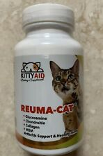 Kittyaid REUMA-CAT Arthritis Support & Healthy Joints 60 Tab Salmon Flavor